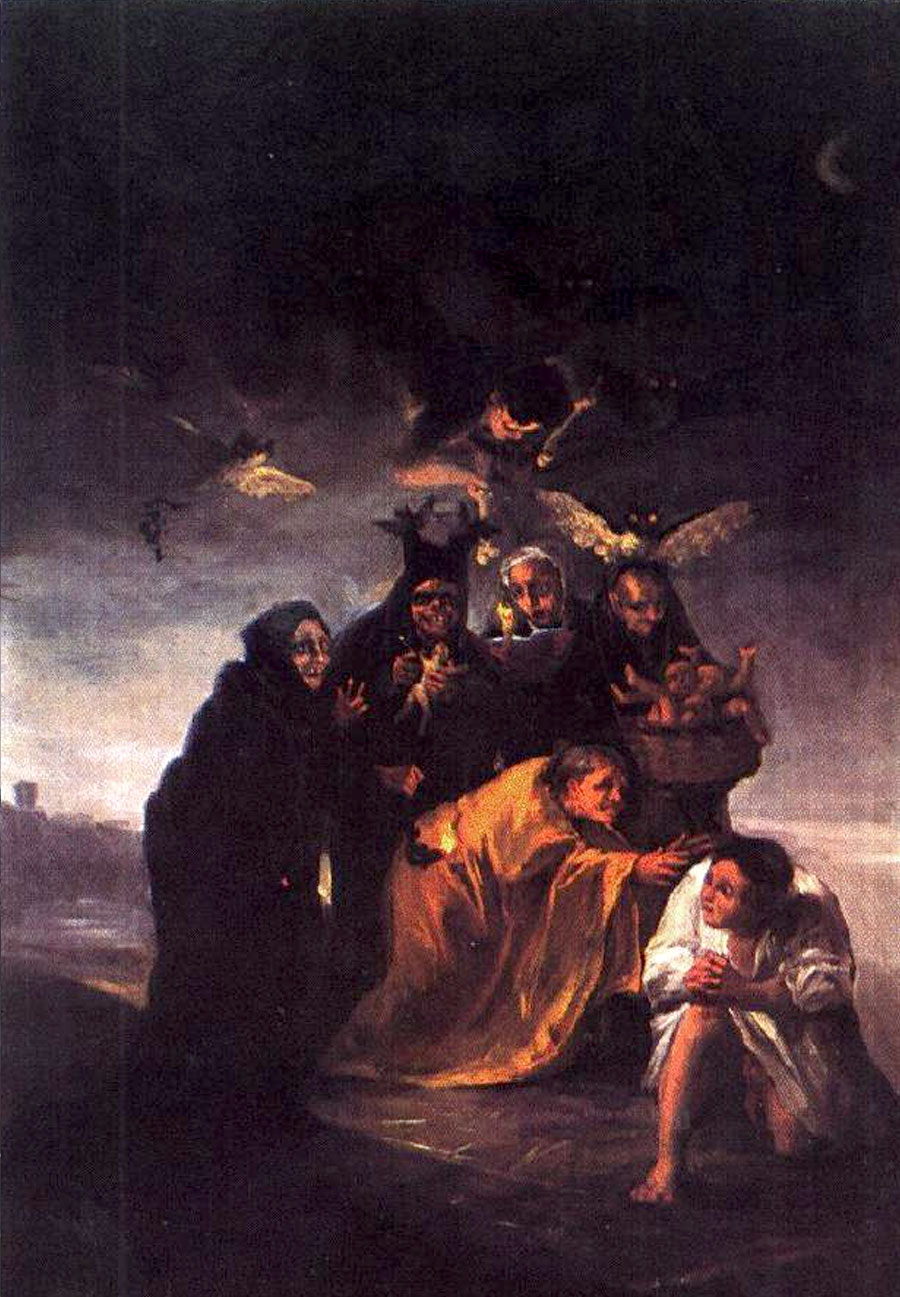 Francisco de Goya - El exorcismo