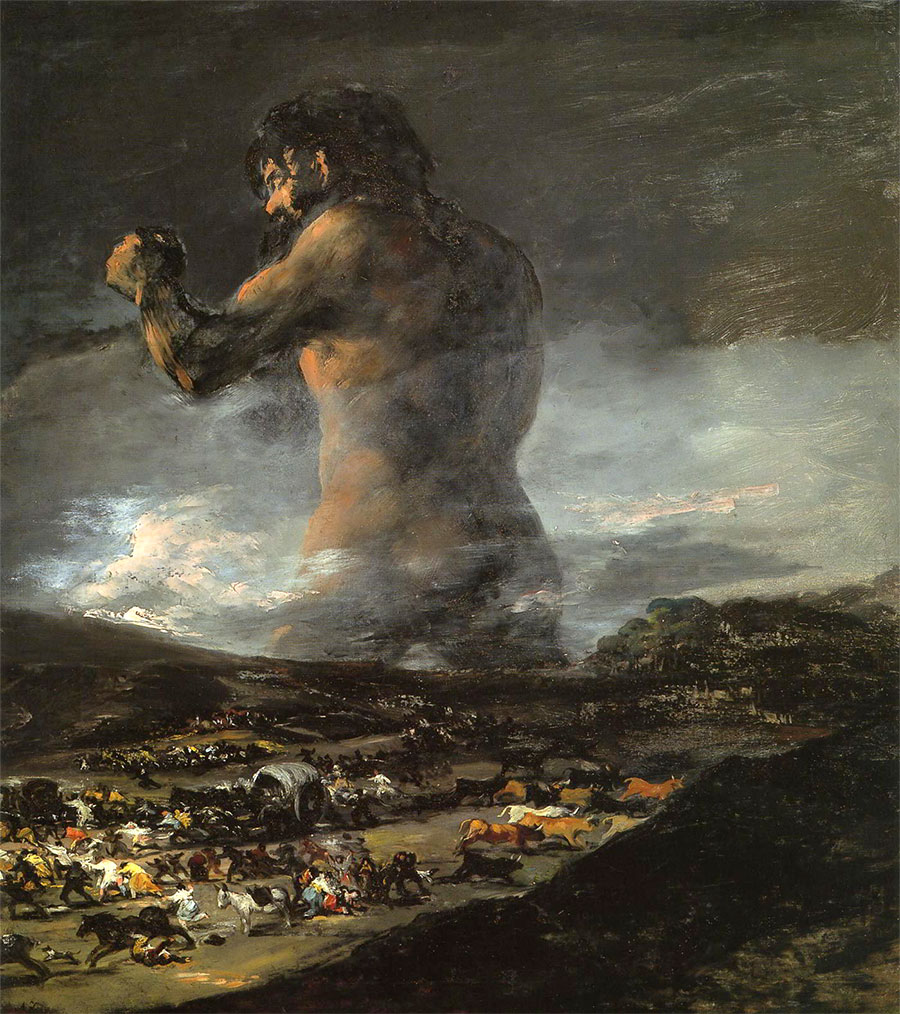 Francisco de Goya - El coloso