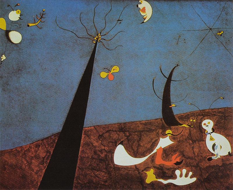 Miró - Diálogo de insectos
