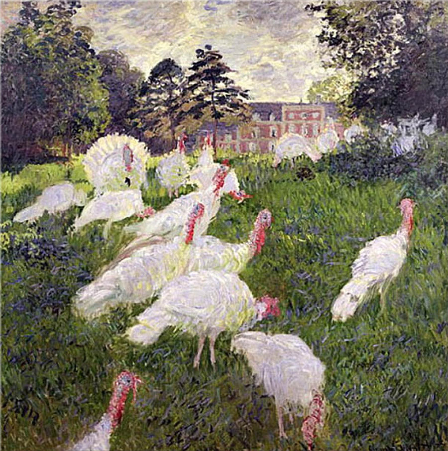 Claude Monet - Los pavos