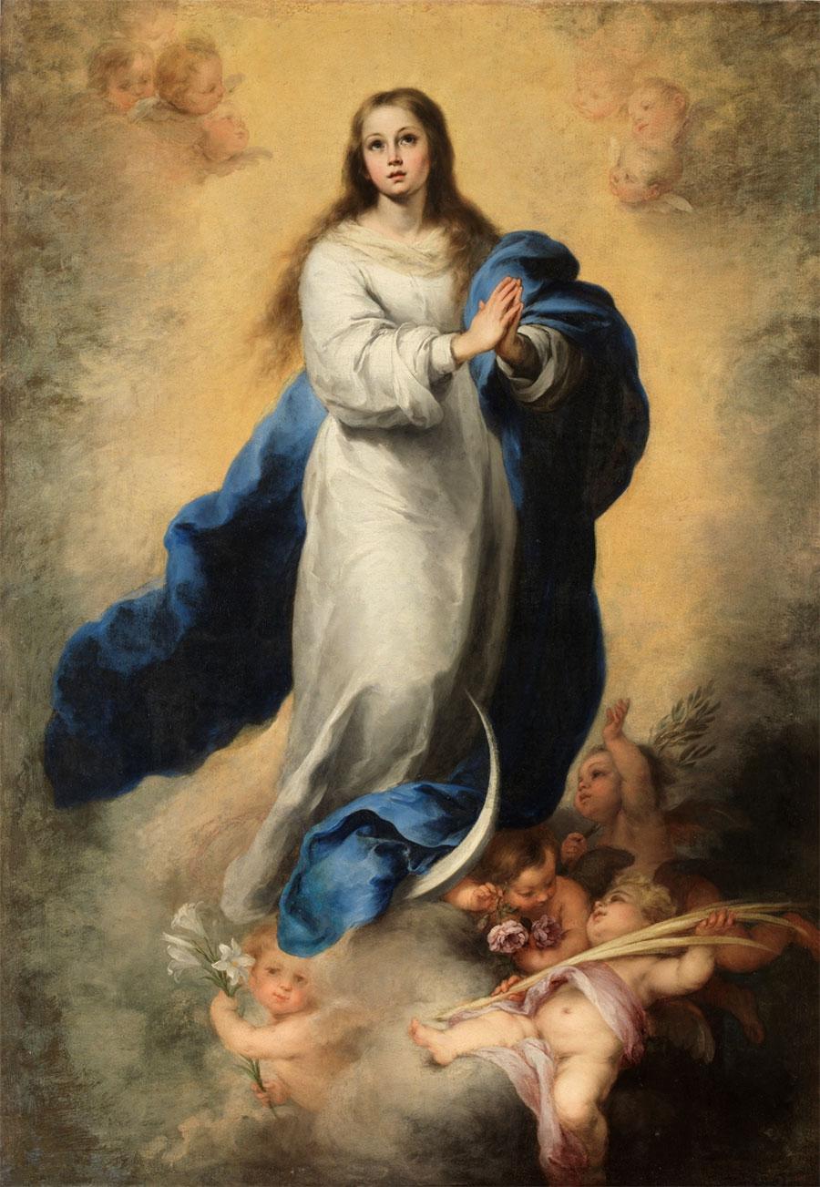 Resultado de imagen de inmaculada concepción murillo