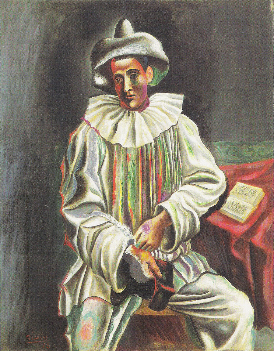 Picasso - Pierrot