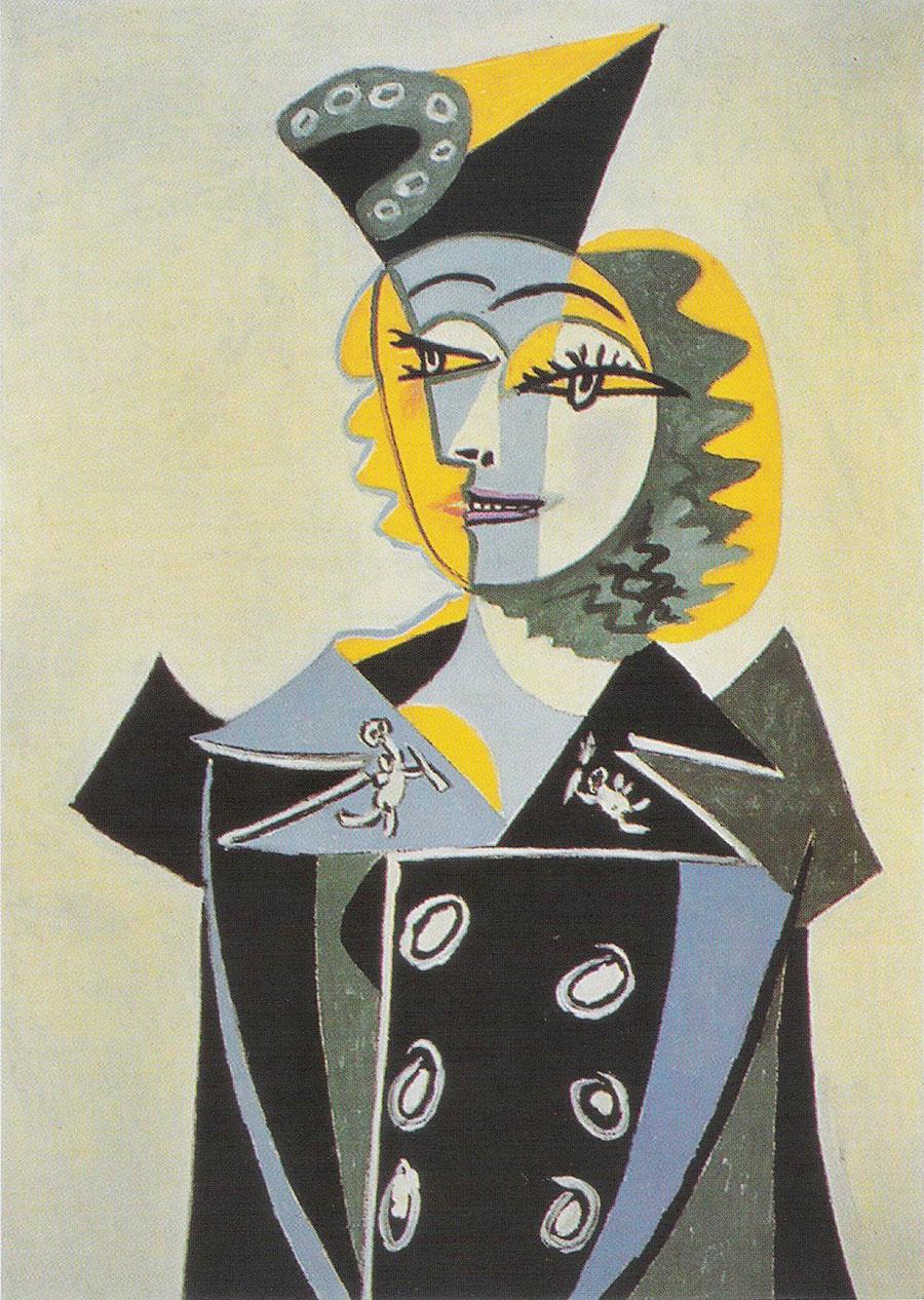 Picasso - Retrato de Nush Éluard