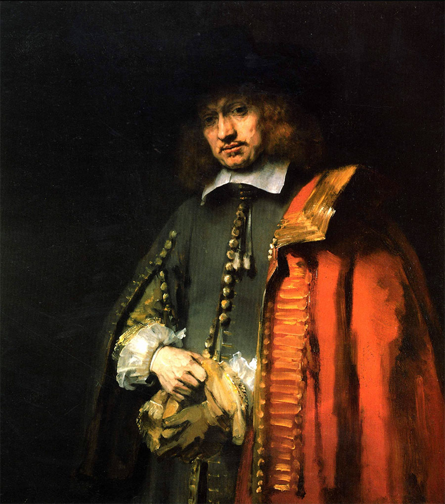 Rembrandt - Retrato de Jan Six