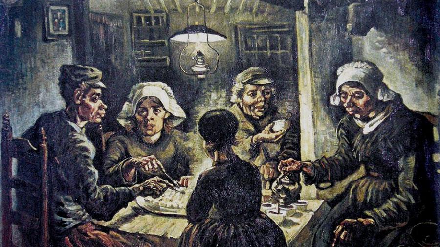 Vincent van Gogh - Los comedores de patatas